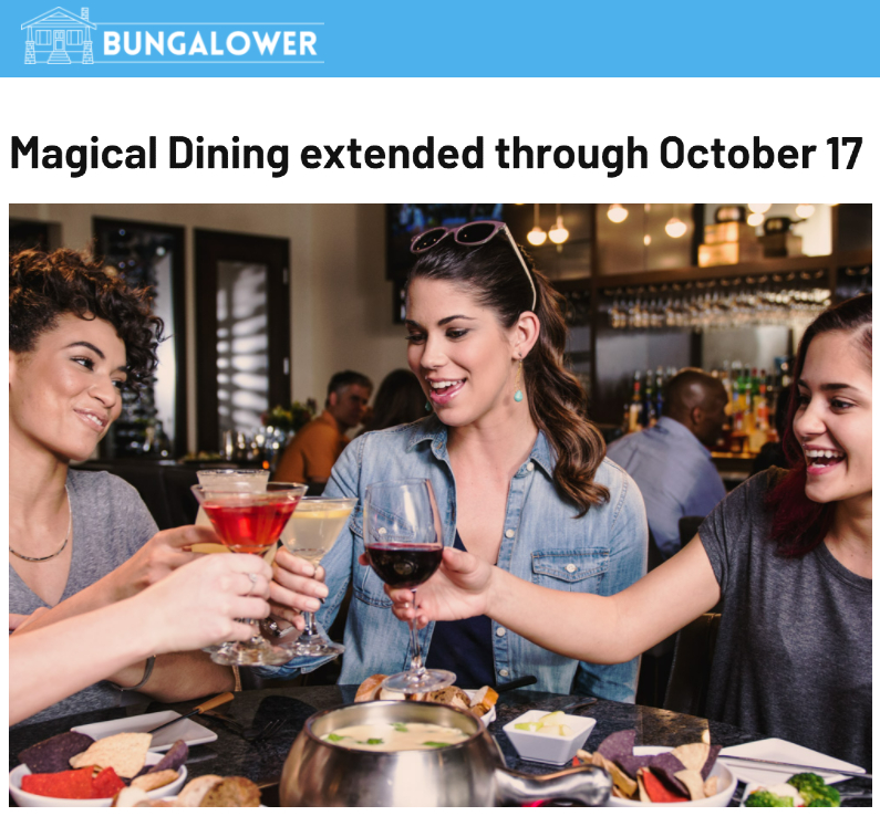 Visit Orlando's Magical Dining continues to generate strong media coverage across Central Florida