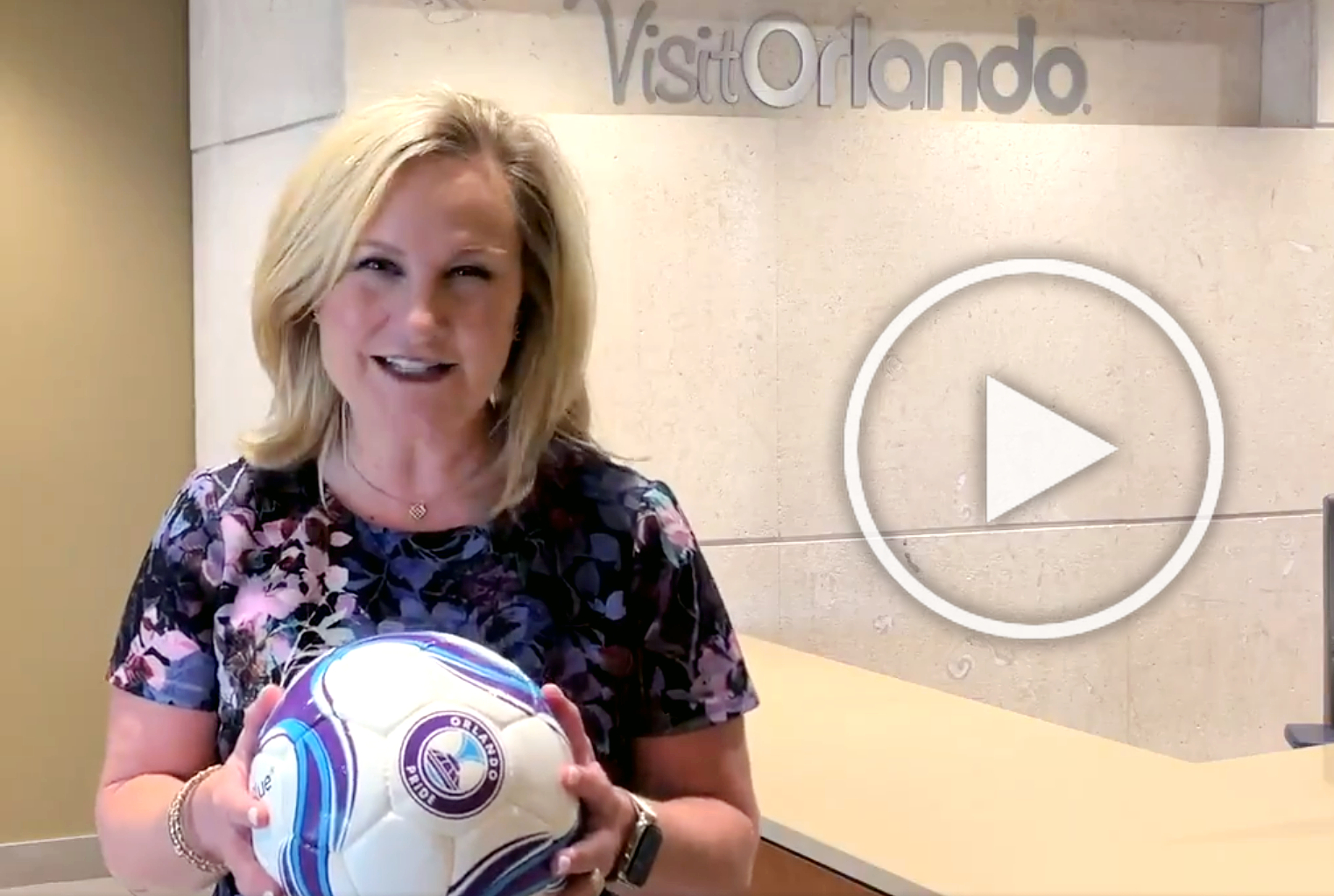 Visit Orlando president and CEO Casandra Matej joins in a challenge to #riseup and show the world that Orlando deserves to be a World Cup city once more