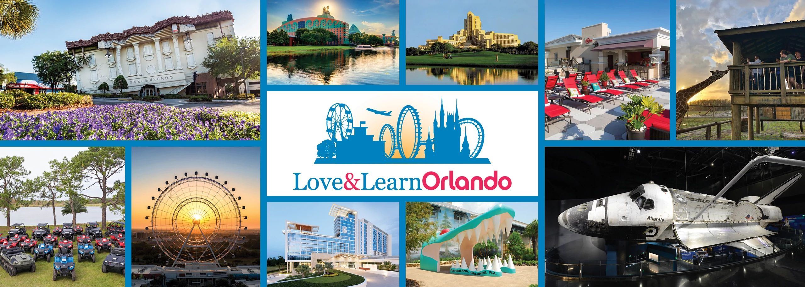Love and Learn Orlando provides on-demand video training about our destination.