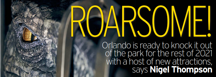 Orlando is featured in one of the UK's top newspapers, the Daily Mirror.