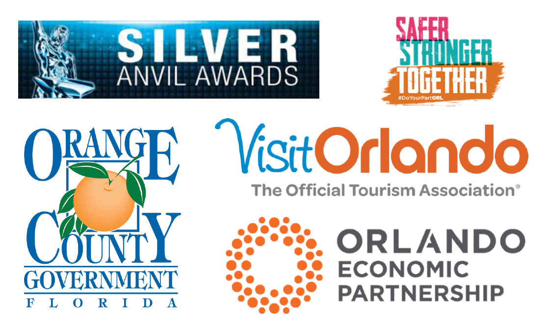 Orlando's Safer, Stronger, Together campaign has been named a finalist for the 2021 PRSA Silver Anvil