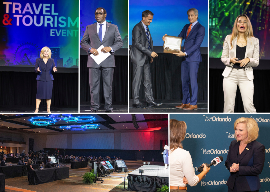 Visit Orlando's Travel & Tourism Event was a huge success
