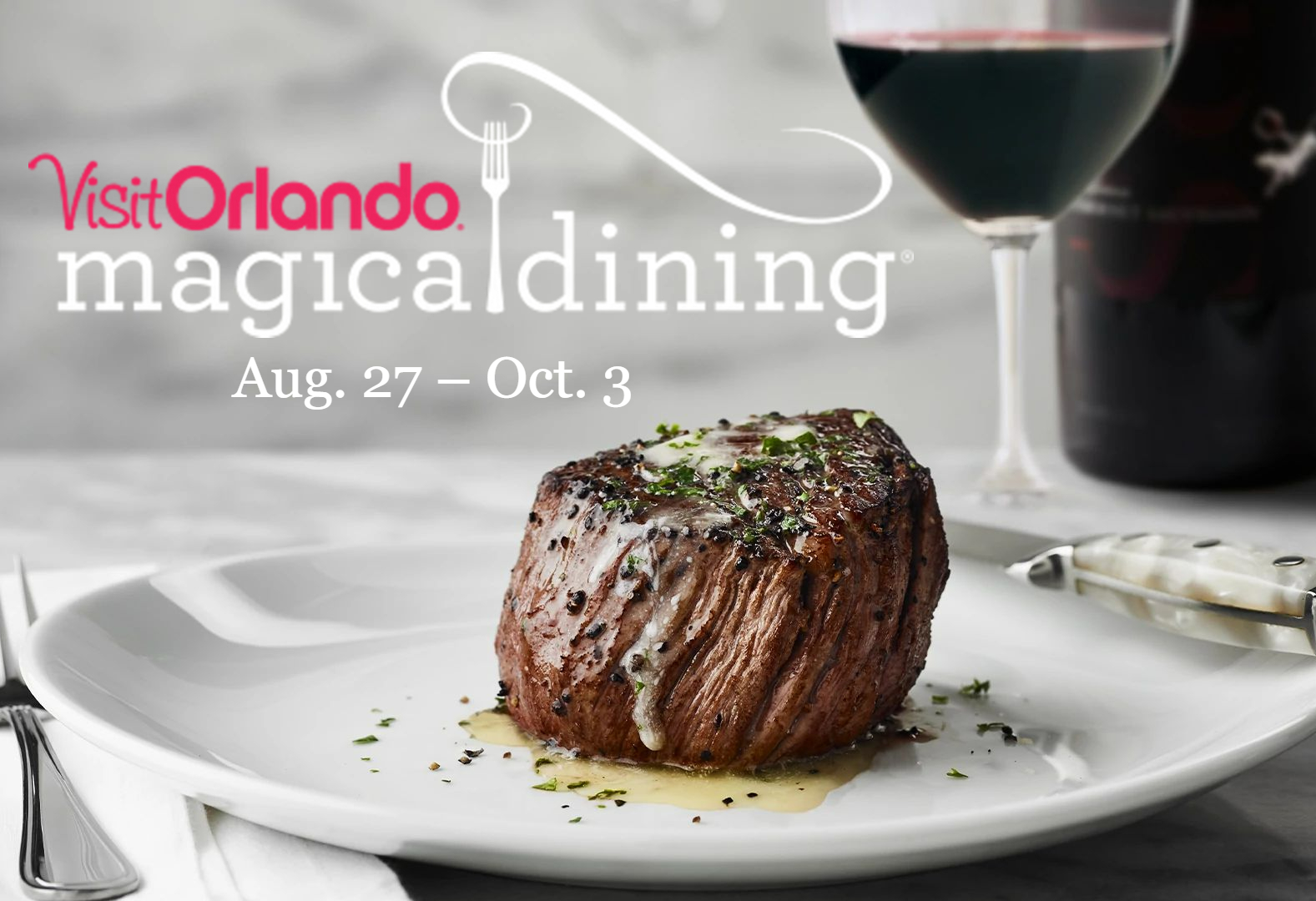 It's time to start planning your picks for Visit Orlando's 16th annual Magical Dining